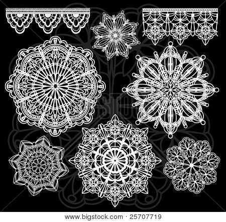 Vector lace