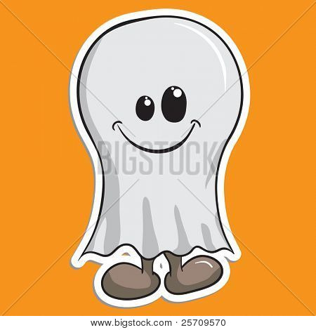 Cute Halloween character - Ghost
