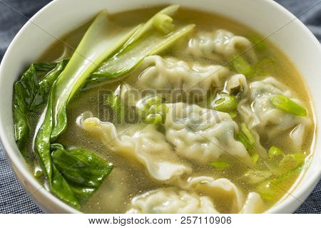 Homemade Chinese Wonton Soup