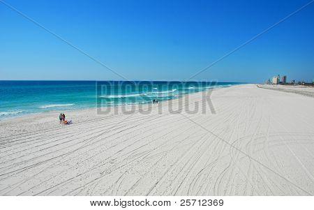 Almost Empty Beach