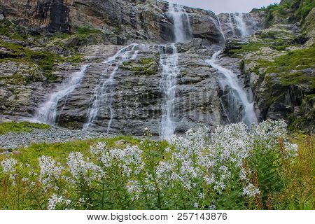 Sofia Waterfalls, Lower Arkhyz, Karachay Cherkess Republic.