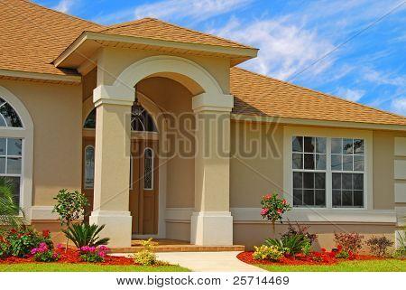 Entryway to Elegant Home