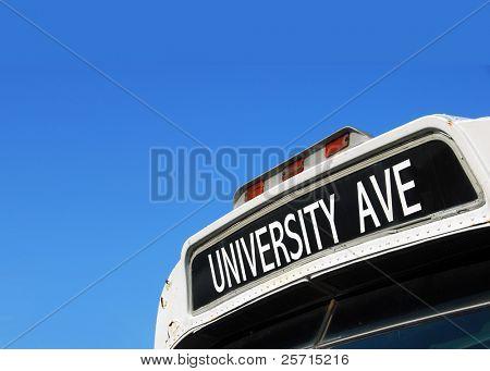 Bus Destination Sign