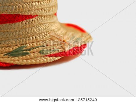 Feminine Straw Hat