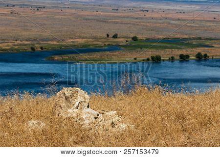 Eastern Washington Palouse Vast Expanse Desert View Columbia River White Bluff