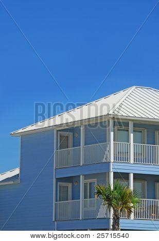 Pretty Blue Coastal Home