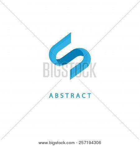 Monogram Design Elements, Graceful Template. Calligraphic Elegant Logo Design. S Logo Line Art Monog
