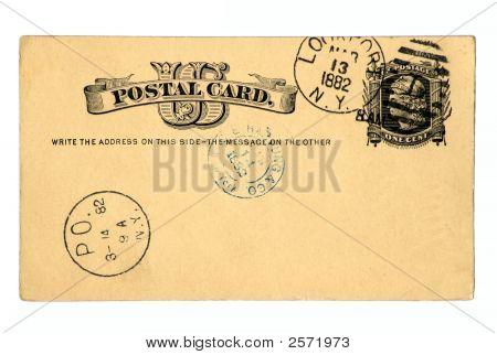 Винтажные открытки 1882 года.