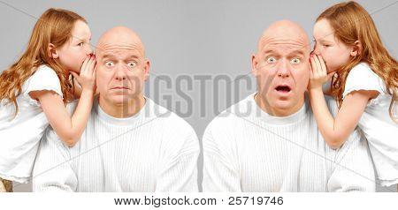 Hombres doble cuestionados impactante secreto por gemelas