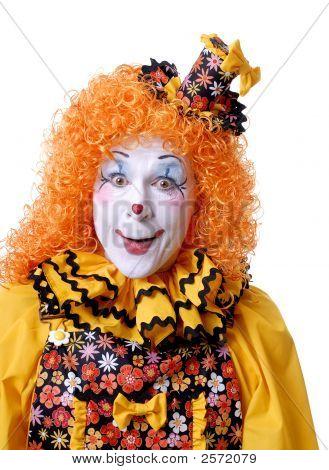 Smiling Circus Clown