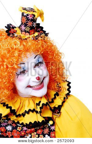 Smiling Circus Clown
