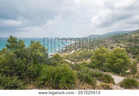 Natural Landscape. Sierra De Irta. Peñíscola. Spain.