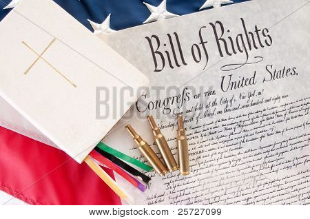 United States Bill of Rights by Bible and bullets