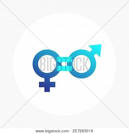 Gender Equity Vector Icon, Eps 10 File, Easy To Edit