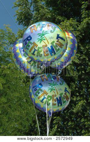 Retirement Helium Balloons