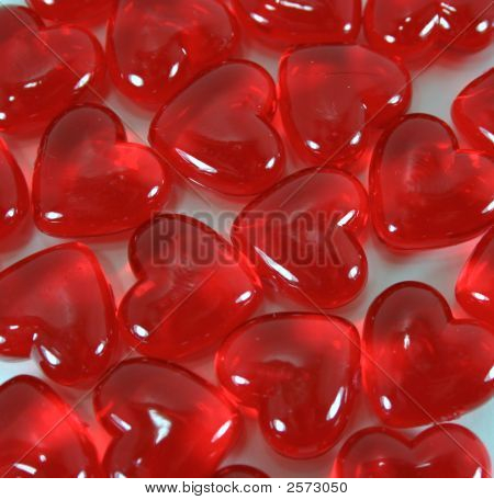 Shiny Red Valentine Candy