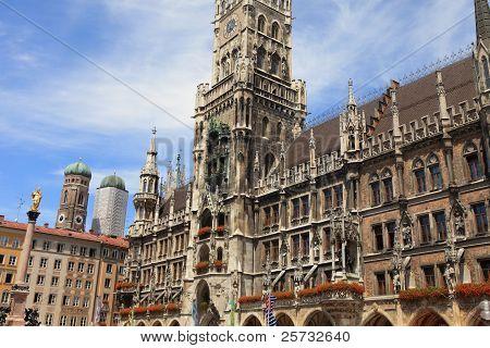 new city hall munich-germany