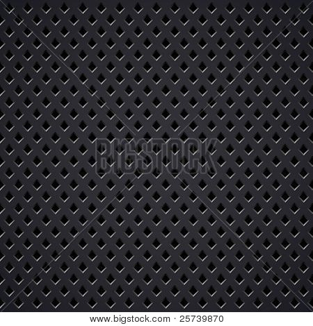 Metal grill vector texture.