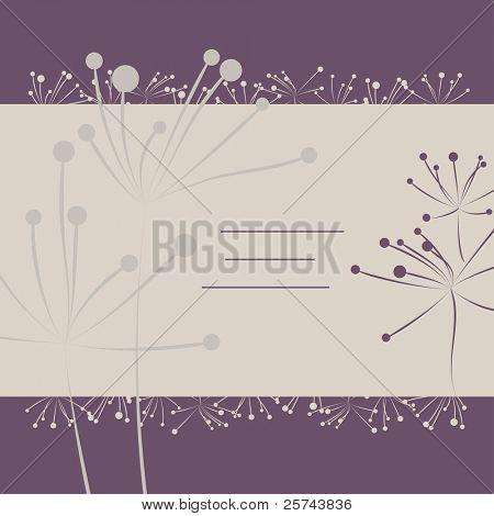mit einfachen Blüten bedecken, vector