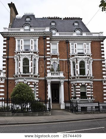 Victorian style house in London