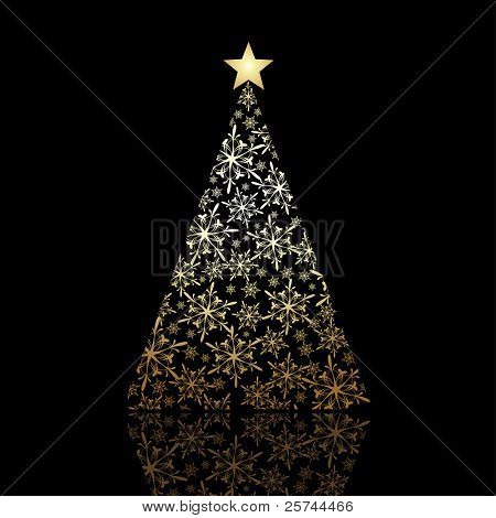 Christmas tree, vector eps8