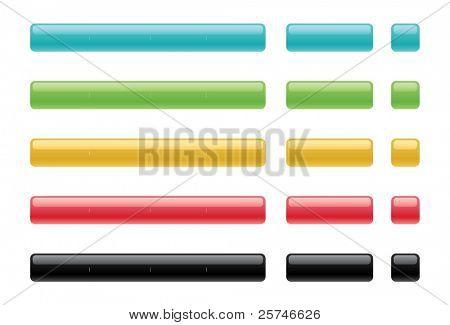 Blank internet buttons