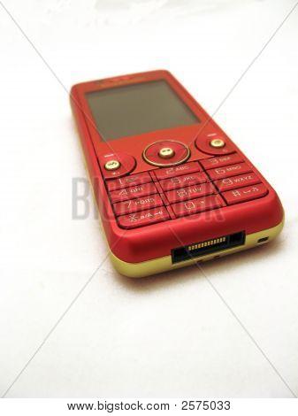 Red Cellphone, Short Focal Length