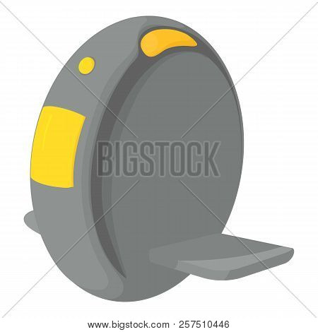 One Wheel Icon. Cartoon Illustration Of One Wheel Icon For Web