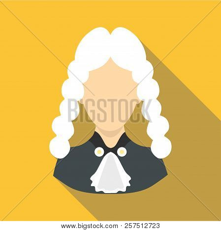 Judge Icon. Flat Illustration Of Judge Icon For Web Design