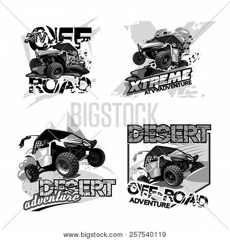 Black And White Artwork. Eps 10 Vector Graphics. Layered And Editable.