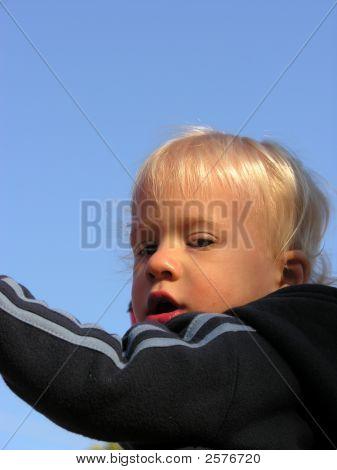 Boy Looking