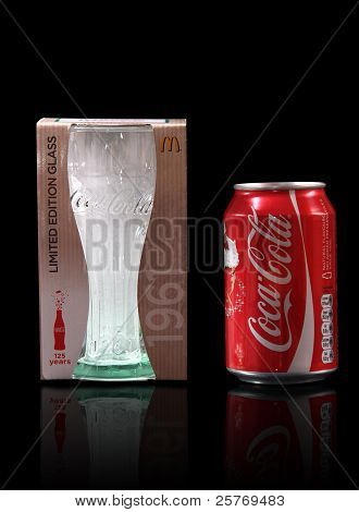 Coca Cola glass promotion