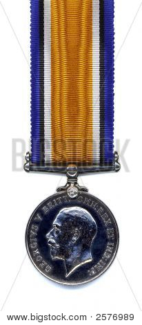 British War Medal, 1914 - 18 (Back)