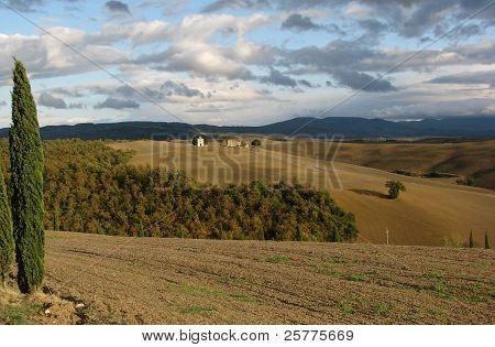 Landscape of Tuscany, Italy