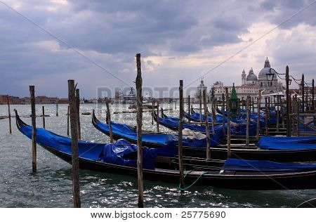 Venice Italy, after the storm