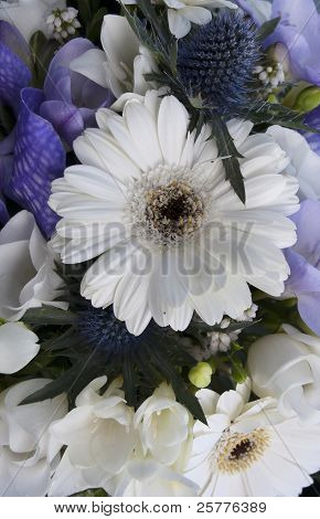 Brides Wedding Bouquet Of Flowers