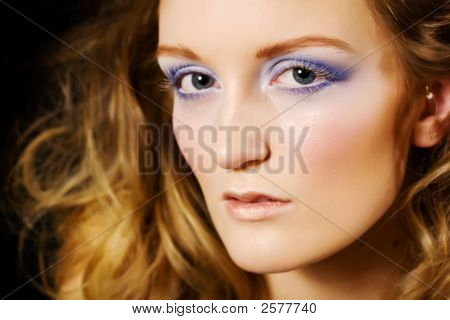 Glamour Makeup Model