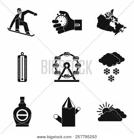 Sport Journey Icons Set. Simple Set Of 9 Sport Journey Icons For Web Isolated On White Background