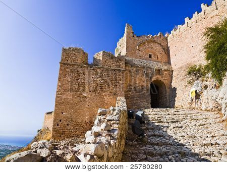 Old Fort In Corinth, Greece