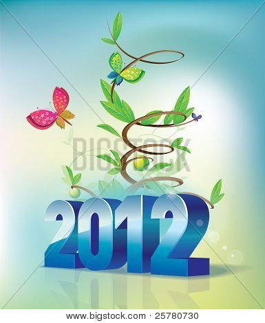 2012 letter and the flourishing of plants for the new year