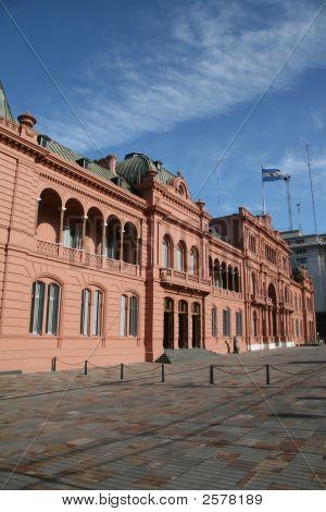 Casa Rosada In Buenos Aires, Argentina