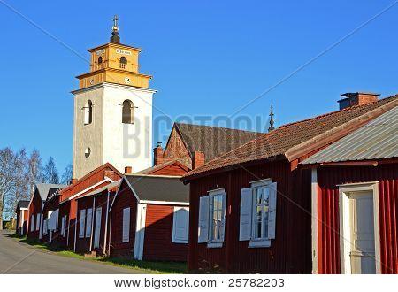 Church town World Heritage Sweden