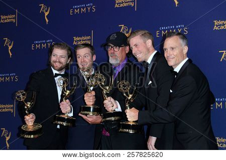 LOS ANGELES - SEP 9:  Life Below Zero, Crew at the 2018 Creative Arts Emmy Awards - Day 2 - Press Room at the Microsoft Theater on September 9, 2018 in Los Angeles, CA