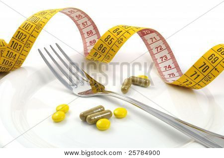 Measuring Tape With Tablets