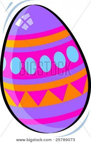 Vector Illustration of a Easter Egg