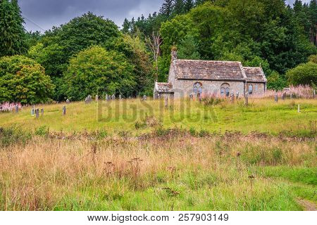 St Francis Church And Graveyard At Byrness, Built In The Eighteen Century It Was At One Time The Sma