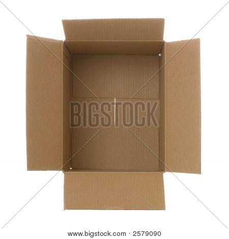 Cardboard Box Ariel