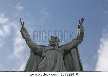 Christ The Redeemer In The Town Of Rio Caribe, Venezuela
