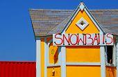 Beach Snowcone Stand