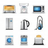 Household appliance poster